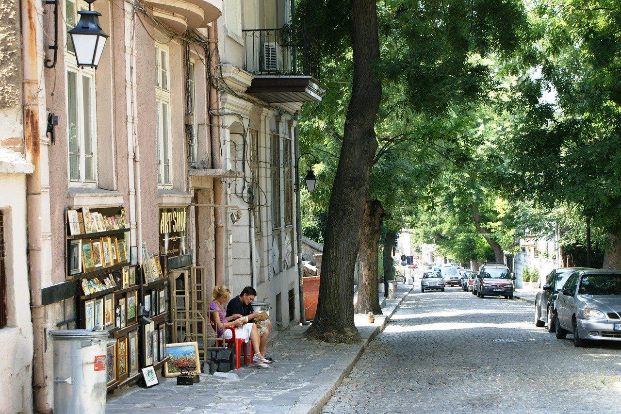 Main street Plovdiv